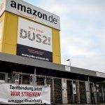 آمازون: 500 میلیون دلار پاداش پرداخت جهانی در حالی که کارگران آلمانی اعتصاب می کنند